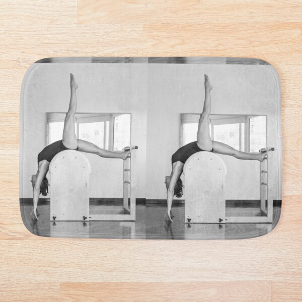 Pure Pilates with your teacher Ivana. Look great in Ibiza Bath Mat
