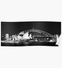 Sydney Harbour and Opera House Poster