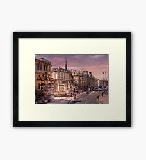 Sheldonian Theatre - Oxford, England UK Framed Print