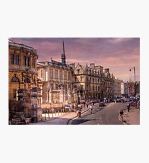 Sheldonian Theatre - Oxford, England UK Photographic Print