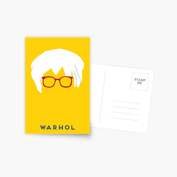 Warhol Postcard