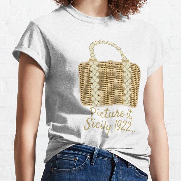 Sophia's Wicker Purse Classic T-Shirt