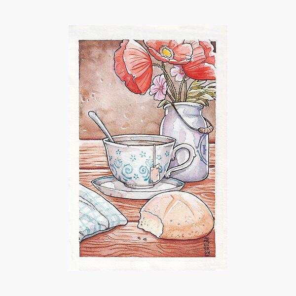 Tea Time Still Life Photographic Print