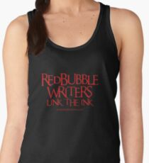 RB Writers shirt (red text) Women's Tank Top
