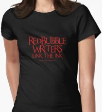 RB Writers shirt (red text) Women's Fitted T-Shirt