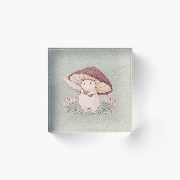 Let me see what you have little Mushroom (no text) Acrylic Block