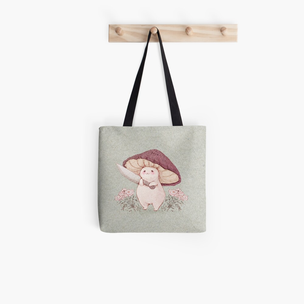 Let me see what you have little Mushroom (no text) Tote Bag