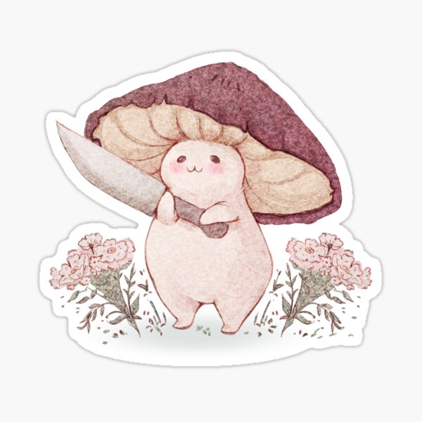 Let me see what you have little Mushroom (no text) Sticker