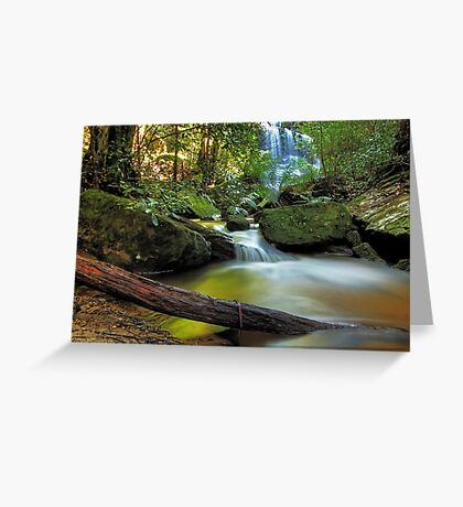Serenity in the Mountains Greeting Card