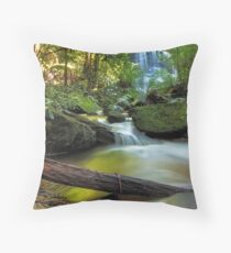 Serenity in the Mountains Throw Pillow