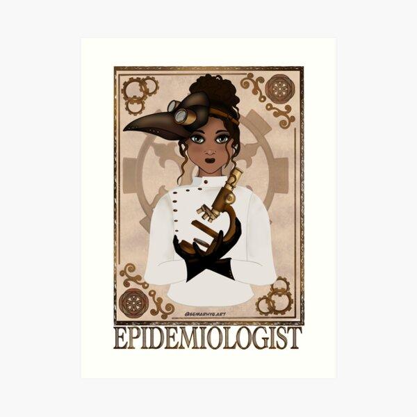 Epidemiologist (SteamPunk Art) Art Print