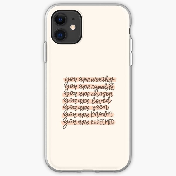 You are ____. iPhone Soft Case