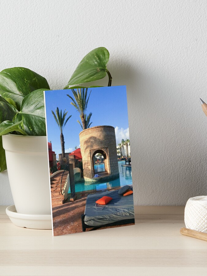 Agadir Morocco Art Board Print By Gemsut Redbubble