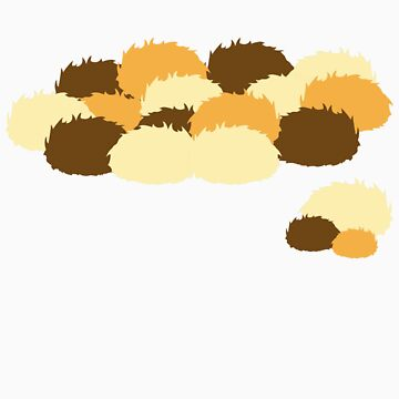 A pile of Tribbles by FoxRiver