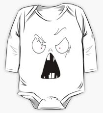 angry face  One Piece - Long Sleeve