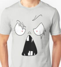 angry face  Unisex T-Shirt