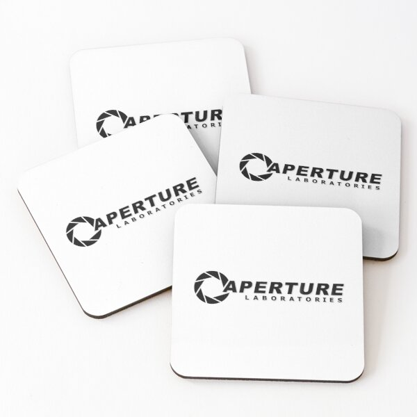 Science Logo Coasters (Set of 4)