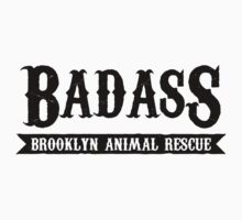 Badass Brooklyn Animal Rescue Tee