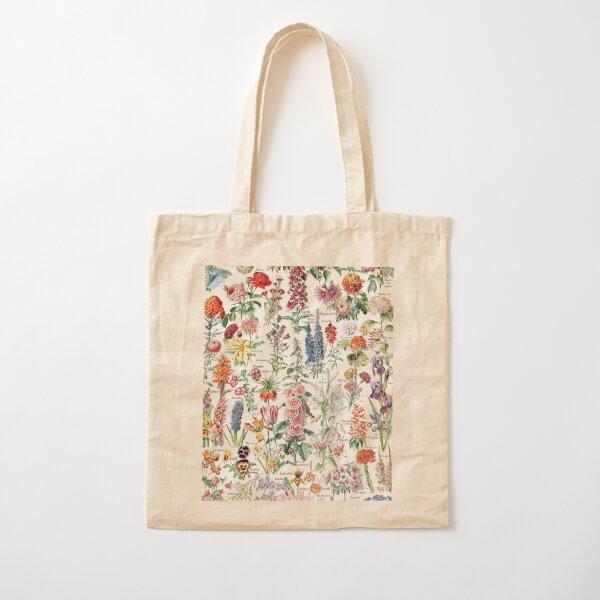 Adolphe Millot - Fleurs pour tous - French vintage poster Cotton Tote Bag