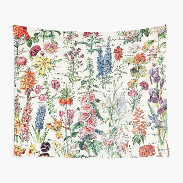 Adolphe Millot - Fleurs pour tous - French vintage poster Tapestry