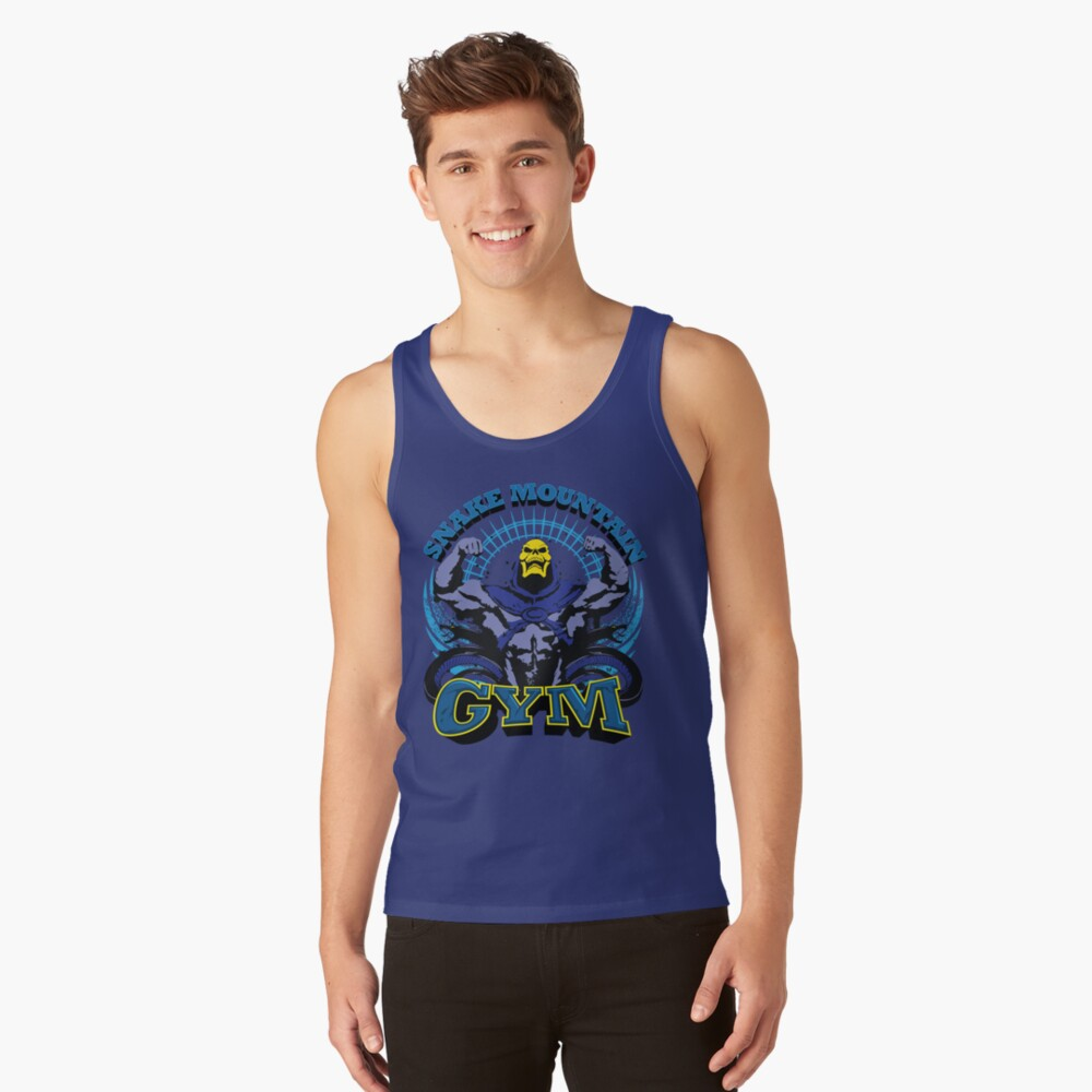 SNAKE MOUNTAIN GYM Tank Top Front