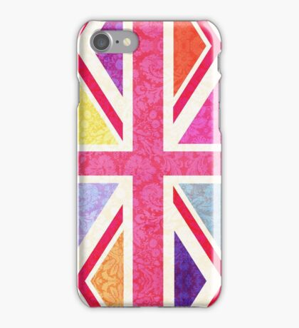 Pink Union Flag 2 iPhone Case/Skin