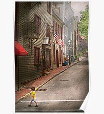 City - Rhode Island - Newport - Journey  Poster