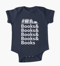 Books | Literary Book Nerd Helvetica Typography Kids Clothes