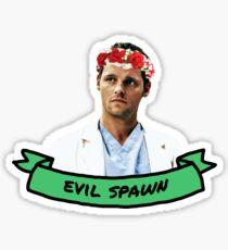 Evil Spawn Sticker