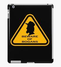 Beware - Bogans iPad Case/Skin