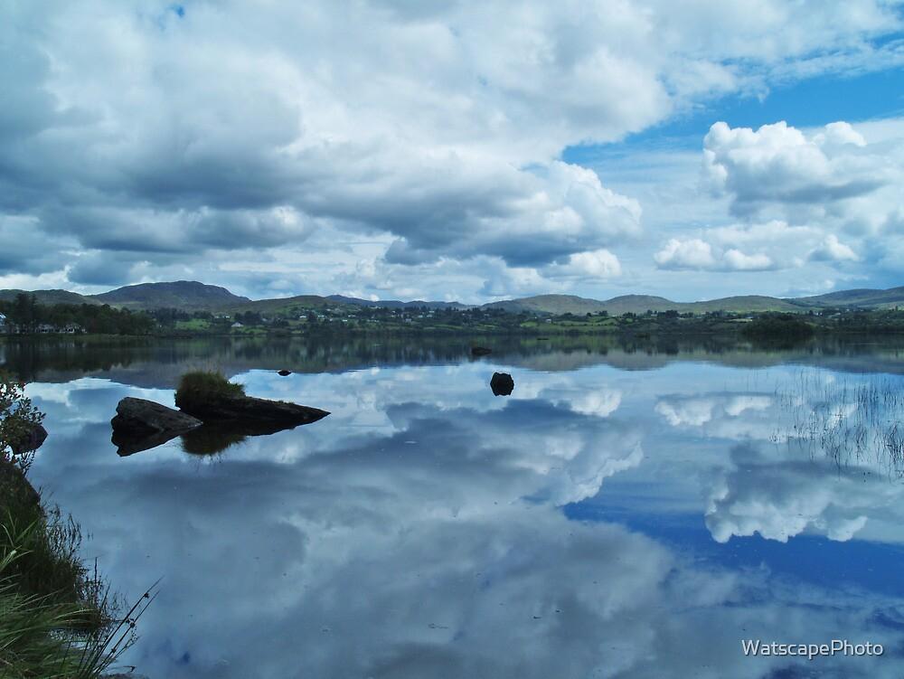 Lough Eske Reflection by WatscapePhoto