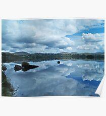 Lough Eske Reflection Poster