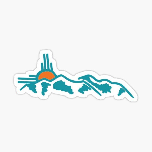 New Mexico Sandia Mountains Sticker