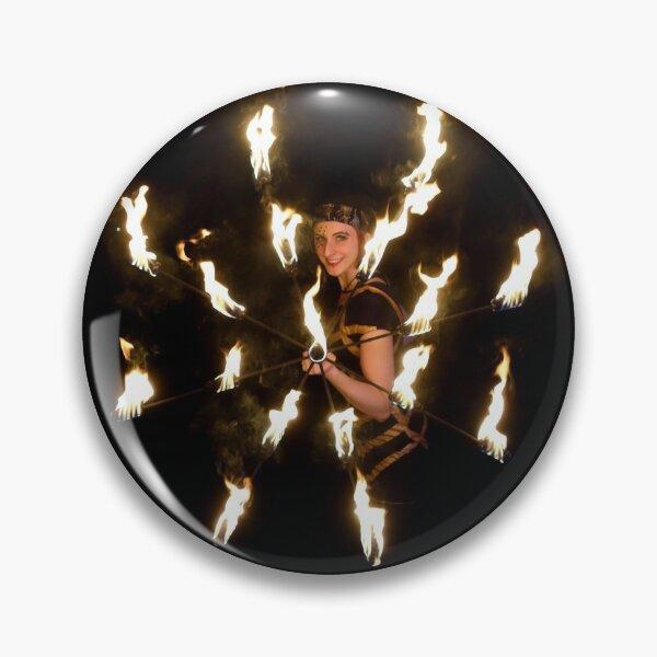 Feuerschirm-Button Button