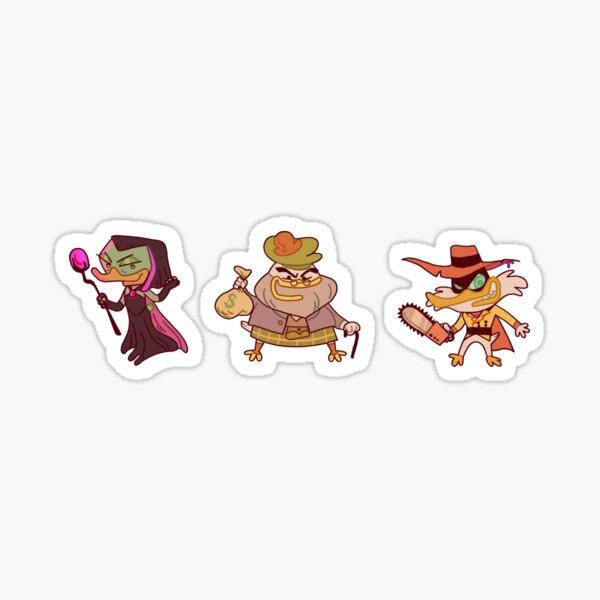 Ducktales: Villains Pack Stickers Sticker