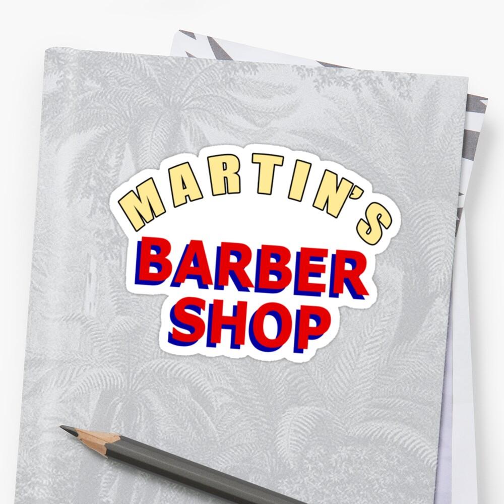 Martin's Barber Shop by Sacana