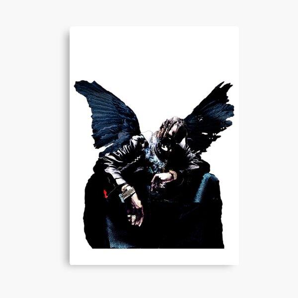 oiseaux dans le piège chantent mcknight Impression sur toile