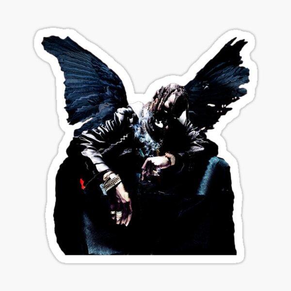 pájaros en la trampa cantan mcknight Pegatina