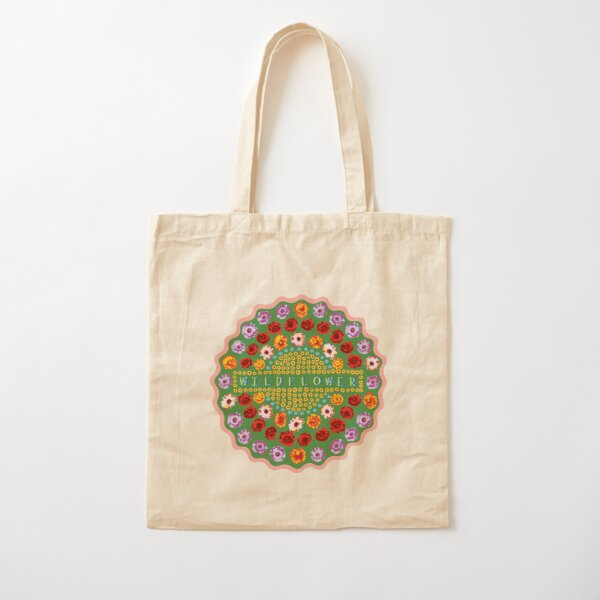 wildflower Cotton Tote Bag
