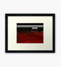 ABSTRACT SUN Framed Print
