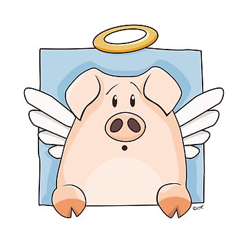 Holy Pig by LisaMarieArt