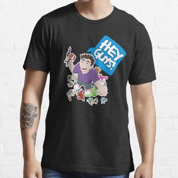 """Hey Guys!"" Cartoon Essential T-Shirt"