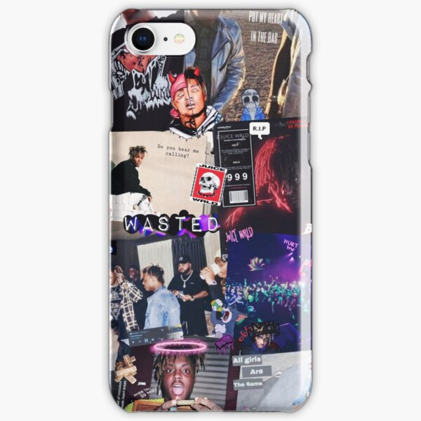 Juice Wrld Collage iPhone Snap Case