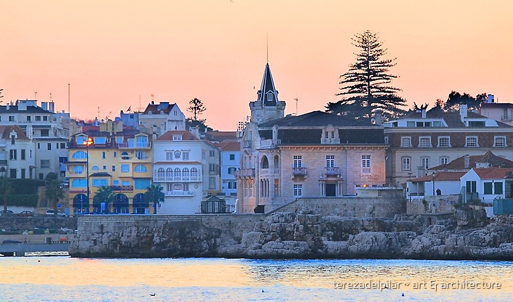 night fall at Cascais by terezadelpilar ~ art & architecture