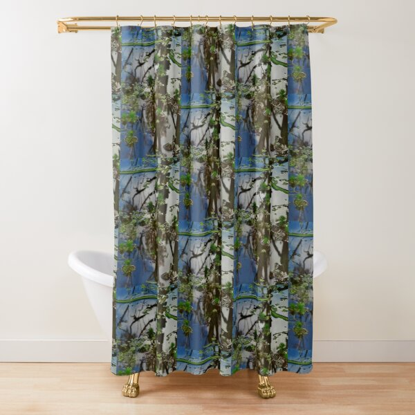 Barmah Puddle Shower Curtain