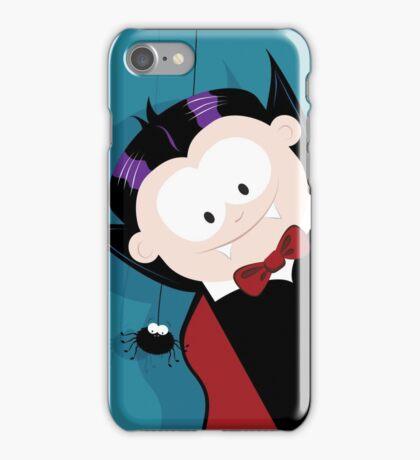 Cute Vampire & Spider iPhone Case/Skin