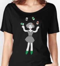 Socialmedia Lady - skillful Women's Relaxed Fit T-Shirt
