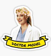 Doctor Model Sticker