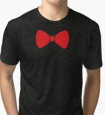 Red Bow Tri-blend T-Shirt