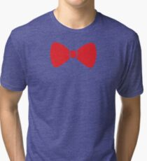 Red Bow Tri-blend T-Shirt